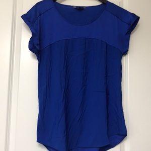 Express satin t shirt